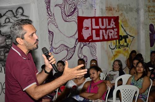 Plenária Popular com Guimarães e Elmano