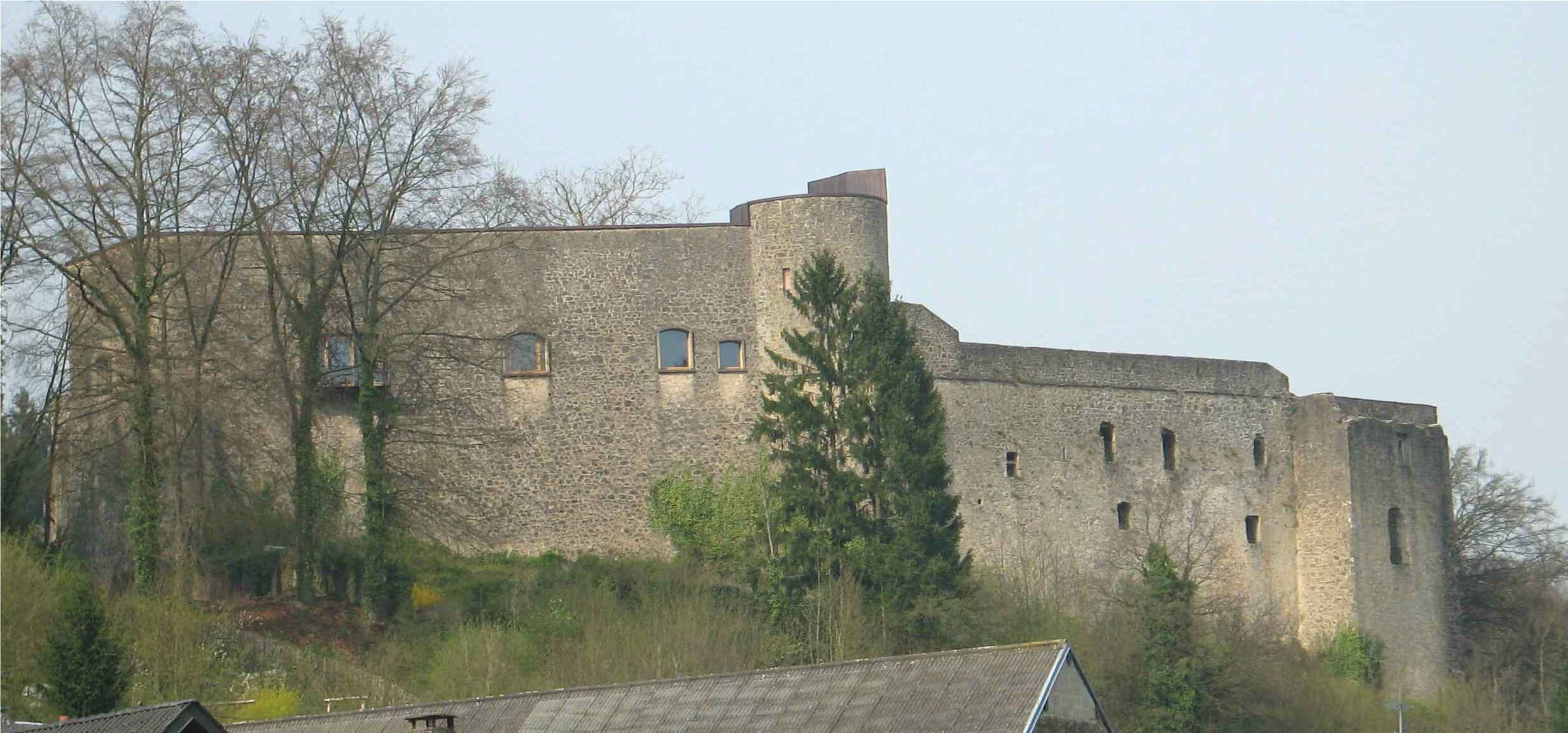 Septfontaines Castle, Luxembourg. Photo taken on April 25, 2005.