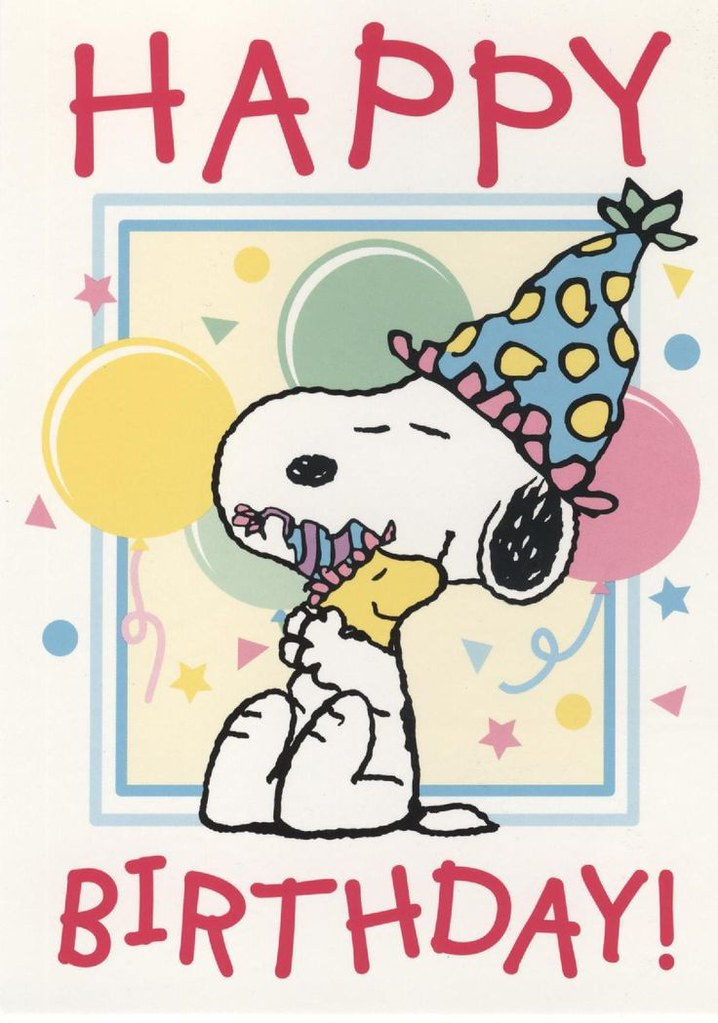 Quotes About Birthday Cards For Male Friend Snoopy