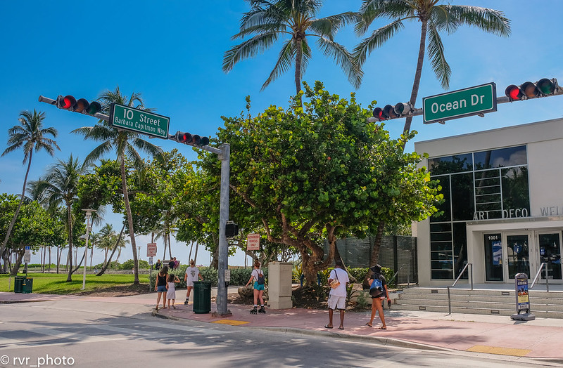 Ocean Drive, South Miami Beach, Florida