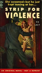 Eton Books E123 - Ed Lacy - Strip for Violence