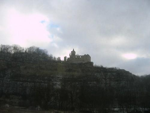 Rudelsburg an der Saale bei Saaleck