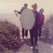 Class of 1968 Mary Lou Turner returns from Skimboarding on the Bandon Beach with sister Pam (right) and Peter Koss 1964 (?) by mharrsch
