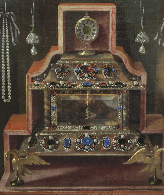 Detail - Cabinet of Curiosities, Johann Georg Hinz, 1666