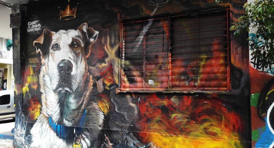 Leuke wijk in Athene, street art in Psirri | Mooistestedentrips.nl