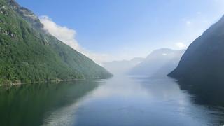 Blaue Inseln ein Traum von Sonne vor Norwegen 7587