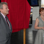 Unveiling the new plaque for the re-opening of Preston Bus Station - 31