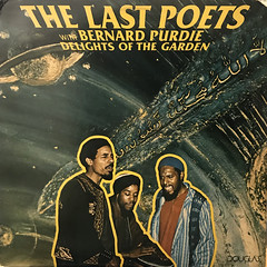 THE LAST POETS WIT BERNARD PURDIE:DELIGHTS OF THE GARDEN(JACKET A)