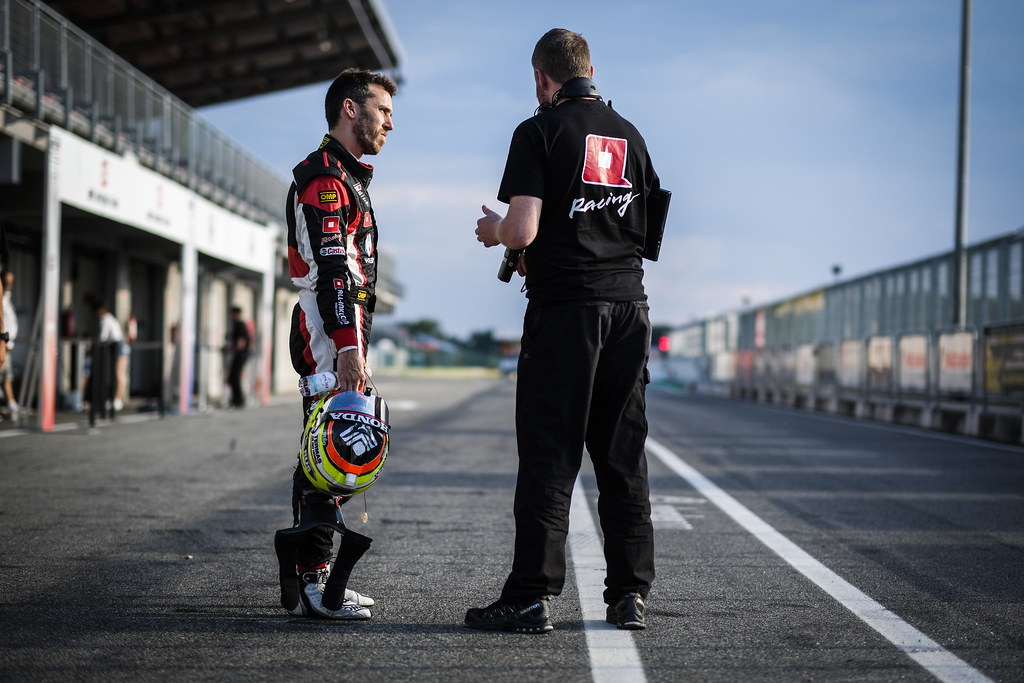 GUERRIERI Esteban, (arg), Honda Civic TCR team ALL-INKL.COM Munnich Motorsport, portrait during the 2018 FIA WTCR World Touring Car cup race of Slovakia at Slovakia Ring, from july 13 to 15 - Photo François Flamand / DPPI.