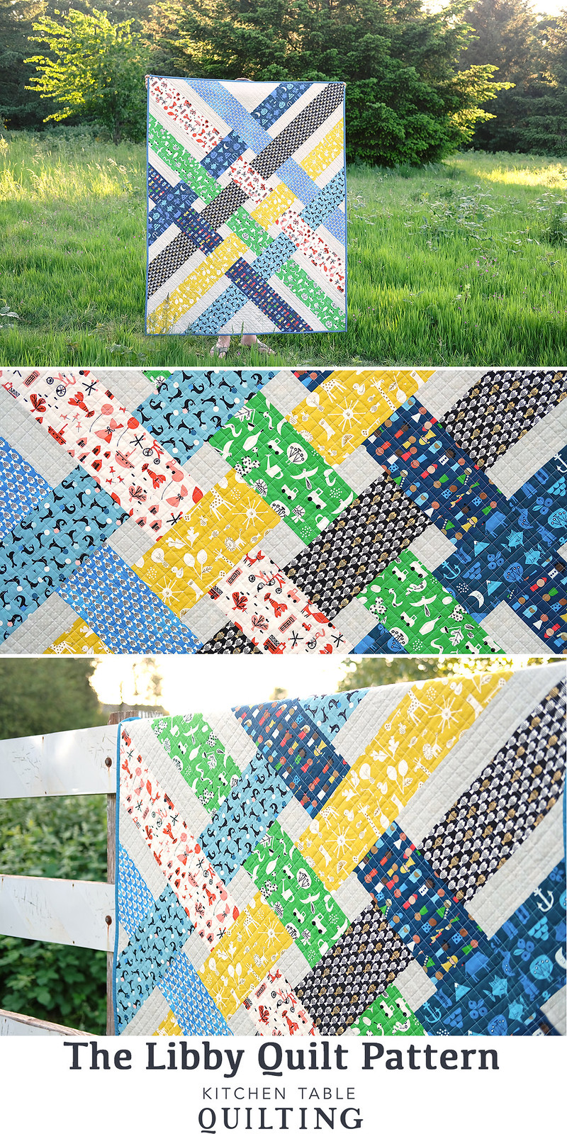 The Libby Quilt Pattern - Kitchen Table Quilting