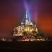 Mont Saint Michel Lights