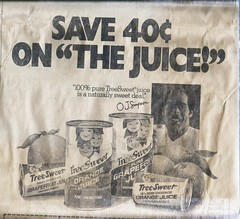 OJ Simpson ad, 1978