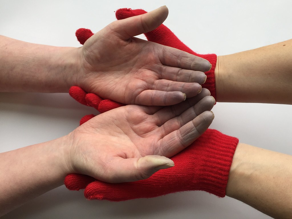 Cold hands, warm… gloves?
