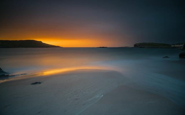 Clashnessie Bay Sunset ..