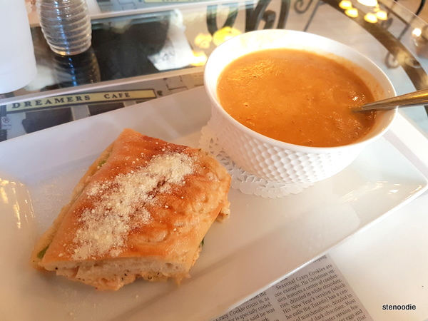 Lobster Panini and Lobster Bisque