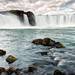 From the Bottom of Godafoss by eScapes Photo