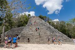 Maya Pyramide in Coba