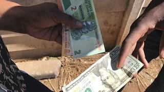 Zimbabwe money changers