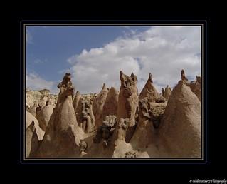 Paysage de Cappadoce- Turquie.