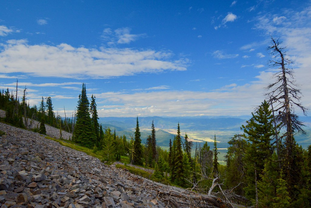 Clark Fork Valley from Mount Baldy