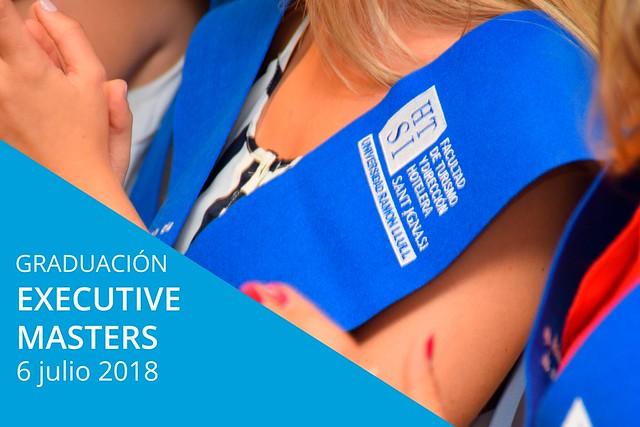 Graduación Executive Masters en Dirección Hotelera y Dirección de Eventos y Turismo de Negocios