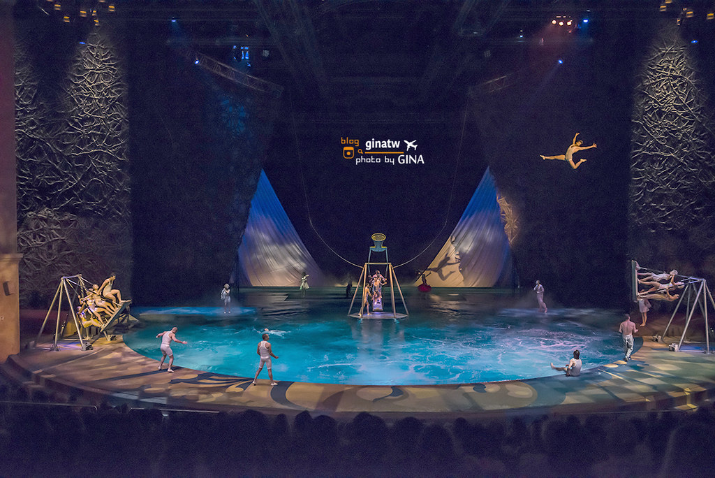 【拉斯維加斯表演秀】太陽馬戲團 「O秀」Show|by Cirque du Soleil|百樂宮飯店|Bellagio Hotel and Casino @GINA環球旅行生活|不會韓文也可以去韓國 🇹🇼