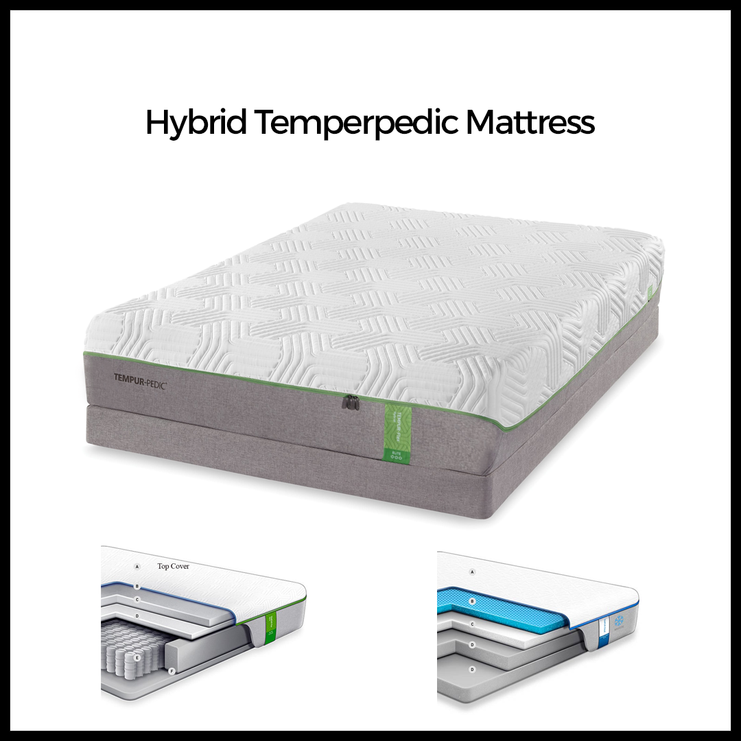 Hybrid Tempurpedic Mattress Garner – RDU Mattress Direct