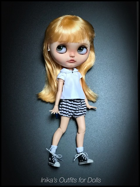 Inika's Outfits for Dolls @inikaoutfitsfordolls #bloomers #shirt #blythe #azone #pants #icerune #pureneemobody #availabledress