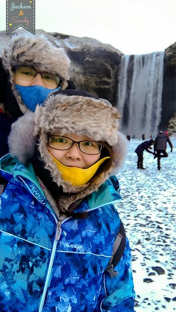 |2018冰島+英國10日蜜月|⑧—Day3(上)/20180114/冰島必看的雙瀑布