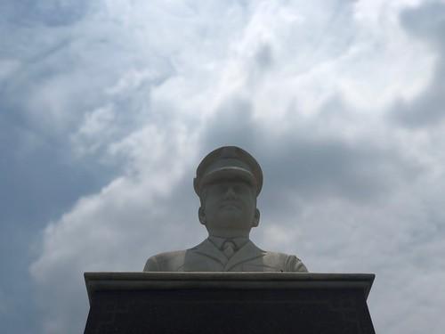 City Landmark - Lieutenant's Bust, Atul Katarya Chowk, Gurgaon