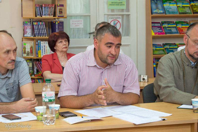 Завідучач Відділу охорони пам'яток в Хмельницькій області Сергій Шпаковський