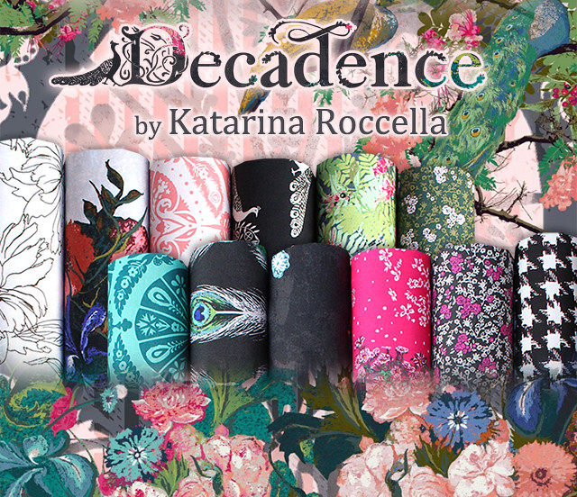 Art Gallery Fabrics Decadence Collection by Katarina Roccella