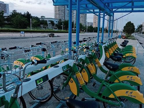 北韓也有類似 YouBike 的共享單車