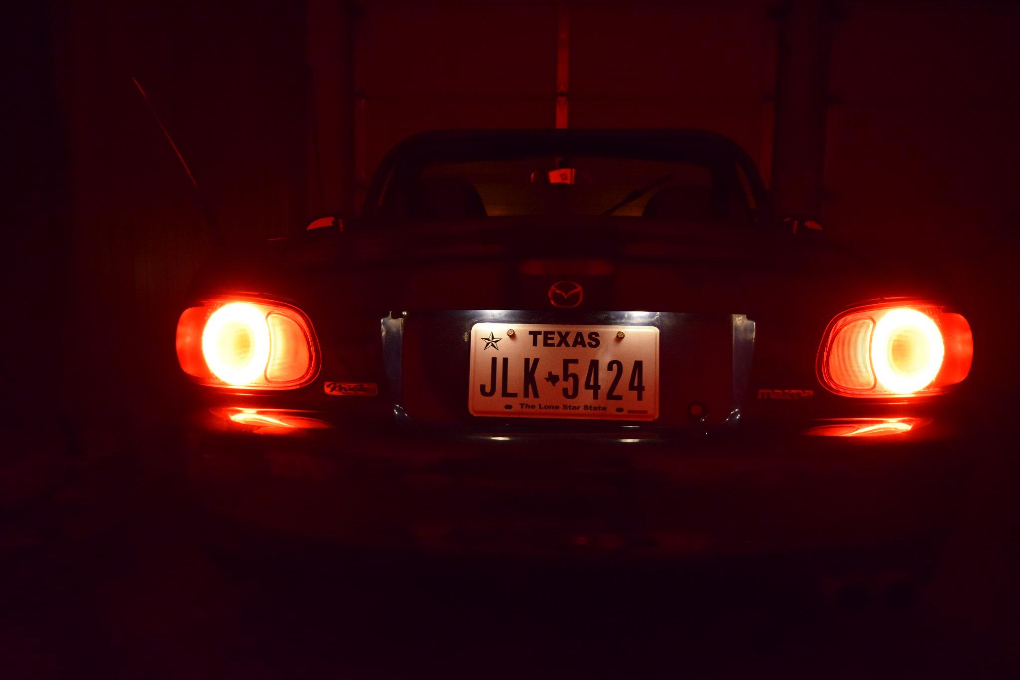 Mazda MX-5 MK2 NB Red LED /'Trade/' Wide Angle Side Light Beam Bulbs Pair Upgrade