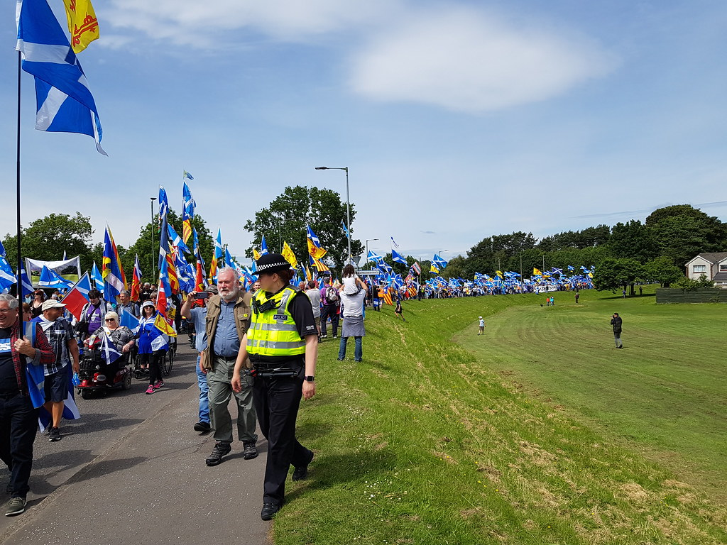 All Under One Banner March for Independence, June 2018