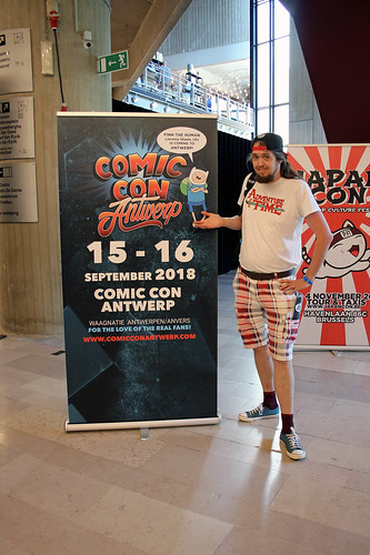 Next stop: Comic Con Antwerp!
