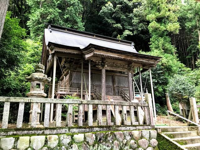 大茂山 西尾根 春日神社