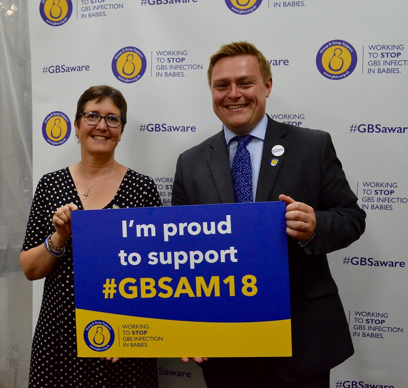 Group B Strep Support Parliamentary Event - 4th July 2018
