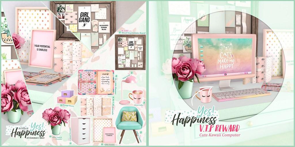 Epiphany – Yes!Happiness- Ariskea