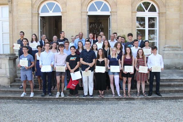 Cérémonie en l'honneur des meilleurs bacheliers 2018 et du lauréat du Prix de l'Education de l'Académie des sports