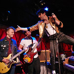 Tue, 26/06/2018 - 5:13pm - Low Cut Connie's crazy fun FUV Live set on WFUV from Rockwood Music Hall, 6/28/18. Hosted by Paul Cavalconte. Photo by Gus Philippas/WFUV
