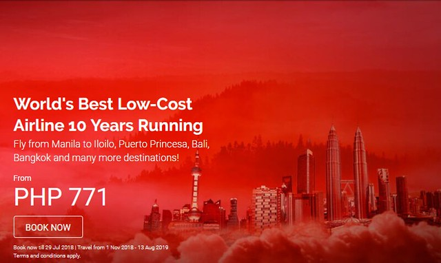 World's Best Low-Cost Airline 10 Years AirAsia Promo
