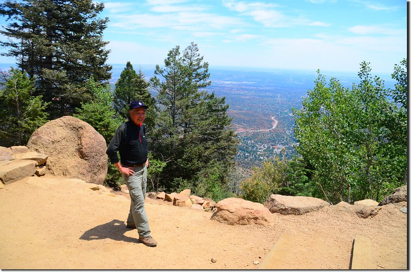 On the top of the incline (2)