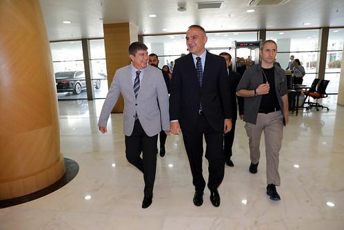 Kültür ve Turizm Bakanı Ersoy Büyükşehir'de