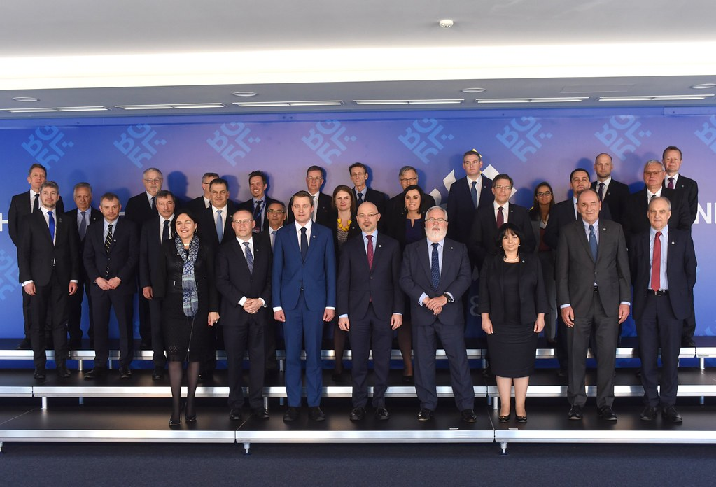 Informal meeting of Transport, Telecommunications and Energy Council (Energy): Family photo and Press conference