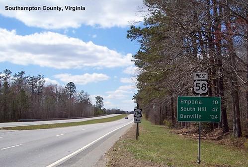 Southampton County VA