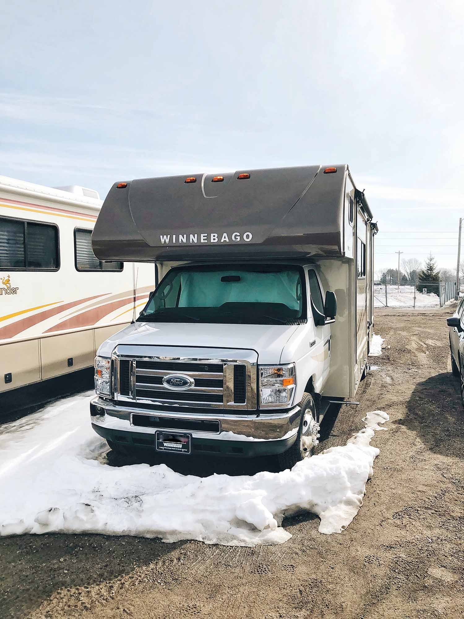 We're Moving Into an RV. No, Really. | girlversusdough.com @girlversusdough
