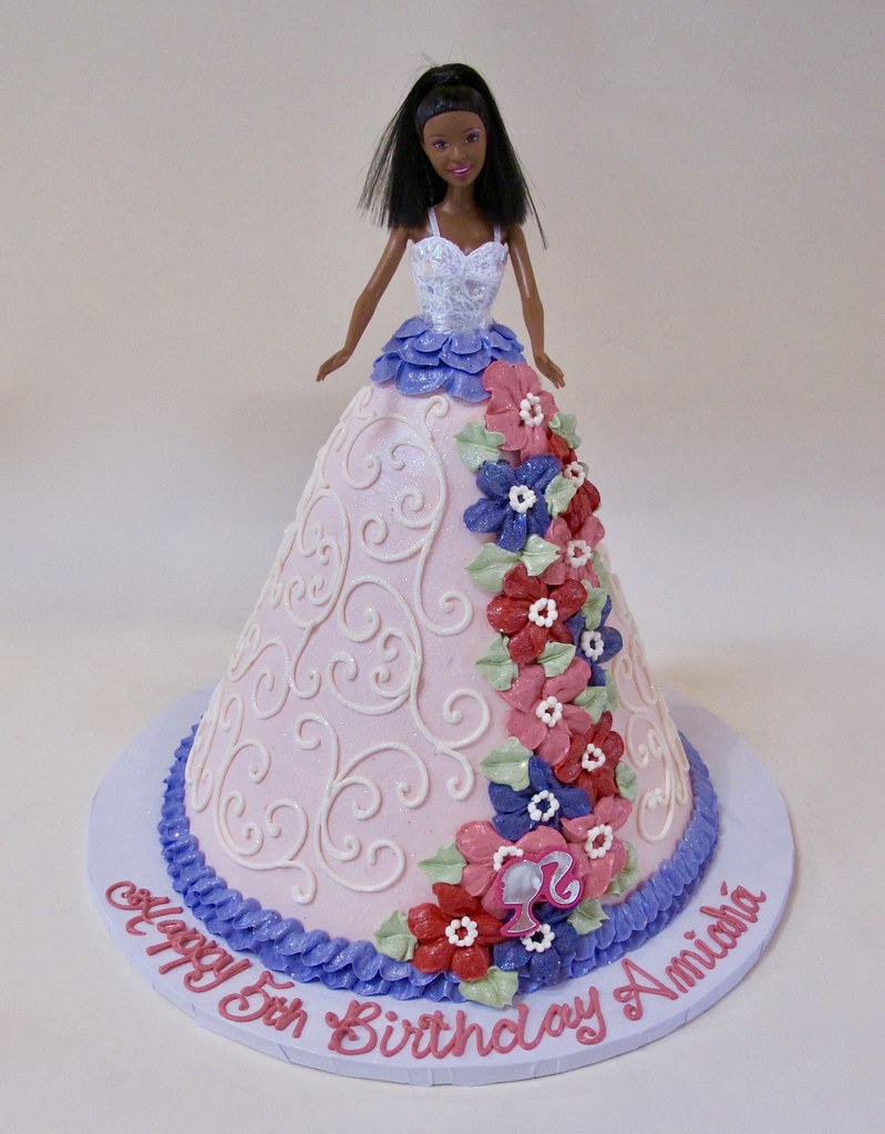 Barbie Doll Birthday Cake 301304 Barbie Doll Dress Cake Flickr
