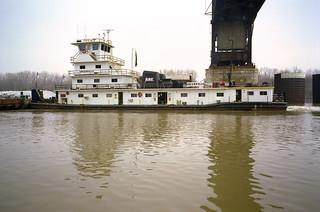a1c058: Greenville downbound at L&I Bridge, Louisville