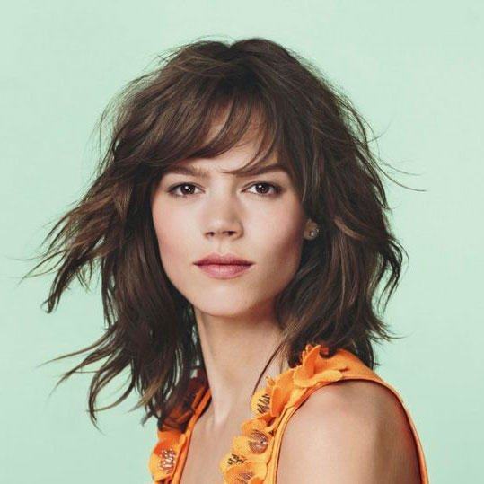 Heavy Shoulder Length Haircuts - Check Now latest Ideas | Hairstylishe 3